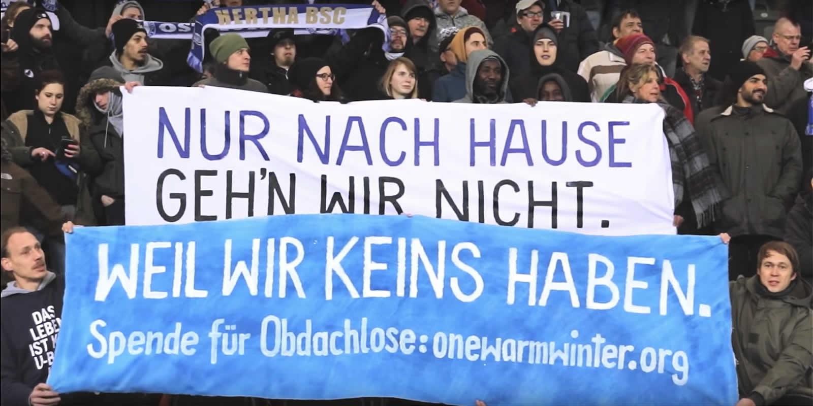 Hertha BSC #onewarmwinter
