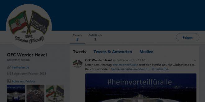 """<span class=""""entry-title-primary"""">OFC Werder (Havel) jetzt auch bei Twitter #ofcwerderhavel</span> <span class=""""entry-subtitle"""">über @herthafanclub und #ofcwerderhavel zu erreichen</span>"""