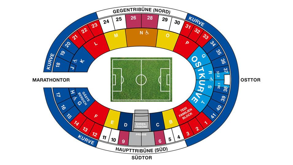 Hertha BSC Dauerkarte Ostkurve